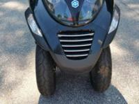 2007 Piaggio MP3 250 7748 miles, heated hand grips, 3