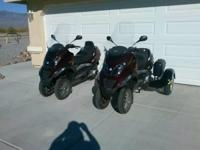 2007 Piaggio MP3 250- - Selling TWO 2007 Piaggio MP3