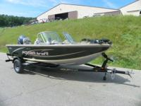 NICE 2007 POLAR KRAFT V 169 FS WITH ONLY 35 HOURS! A