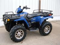 2007 POLARIS SPORTSMAN 800 4X4 just serviced, runs and