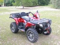 A VERY WELL TAKEN CARE OF 2007 POLARIS SPORTSMAN 800