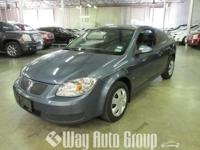 YOU ARE VIEWING A 2005 PONTIAC G5 THAT IS BLUE IN COLOR