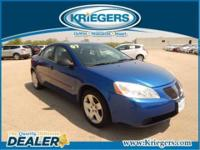 Stay comfortable in your 2007 Pontiac G6 even in the