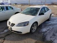 2007 Pontiac G6 Ivory White FWD 4-Speed Automatic with