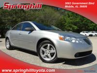 Youll love this 2007 Pontiac G6. This G6 comes to you