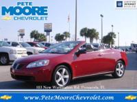 THE PREVIOUS OWNER OF THIS PONTIAC G-6 CONVERTIBLE