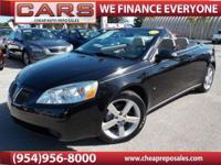 2007 PONTIAC G6 GT CONVERTIBLE WITH ONLY 60,824