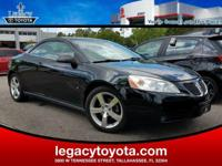 LEATHER, G6 GT, 2D Convertible, 3.9L V6 SFI, 4-Speed