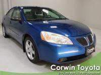 2007 Electric Blue Metallic Pontiac G6 CARFAX