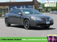 This 2007 Pontiac G6 1SV Value Leader will sell fast