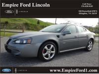 Options:  2007 Pontiac Grand Prix Gxp|Gxp 4Dr