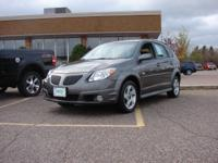 Options Included: N/AThis 2007 Pontiac Vibe has only