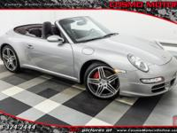 2007 PORSCHE 911 CARRERA 4S 6-SPEED MANUAL!! ONLY 29K