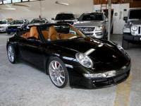One Owner 2007 Porsche 911 Carrera S Cabriolet with LOW