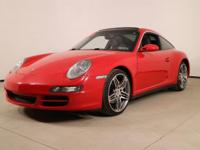 AWD. Recent Arrival! 2007 Porsche 911 Targa 4 RedYour