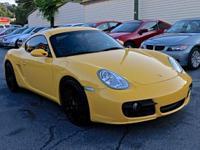 Clean CARFAX. Yellow 2007 Porsche Cayman S RWD 5-Speed