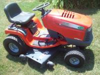 2007 Poulan 700EX Riding Lawnmower for sale with only