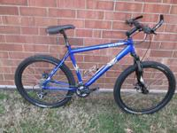 Decent beginners 26 inch mountain bike.  The pedals,