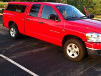 2007 ram 1500 2wd forsale. has hemi 5.7 liter v8 with