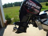 2007 Ranger 188VS bass boat, 150 ETEC Evinrude has