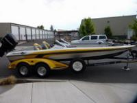 This 2007 Ranger Commanche Z21 Bass Boat is really very