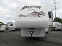 2007 Raptor by Keystone version 3712. This camper is