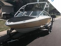 - Stock #064303 - This 2007 Regal 1900 VBR is powered