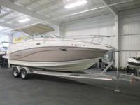 CLEAN 2007 RINKER 250 FIESTA VEE WITH ONLY 157 ENGINE