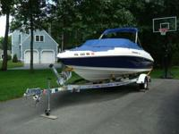 Description 2007 Rinker Captiva 192 Bow Rider, 4.3L MPI