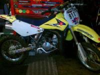 2007 Suzuki Rm85 For sale. Its in good shape and just