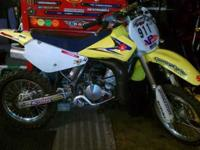 2007 Suzuki Rm85 For sale. Its in attractive shape and