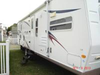 2007 30ft rockwood signature ultra lite travel trailer-