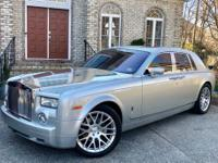UP FOR SALE IS A RARE 2007 ROLLS-ROYCE PHANTOM IN