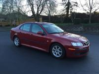 2007 Saab 93 sedan 2.0L 4 cylinder turbo