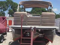 2007 Sanpan 2500 RE Tritoon - Stock #086397 -