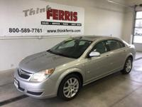 Options:  2007 Saturn Aura Xe|17 Fascia Spoke Wheels