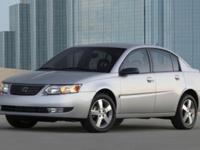 This 2007 Saturn Ion 2 comes standard with power locks