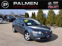 Storm Gray 2007 Saturn ION 3 FWD 4-Speed Automatic