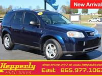 This 2007 Saturn VUE in Deep Blue features. !!CLEAN