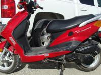 2007 Red  Schwinn Sport LH Scooter 150 cc