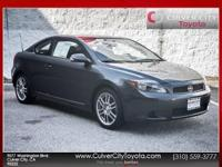 Options:  2007 Scion Tc Base Gray Carfax One Owner And