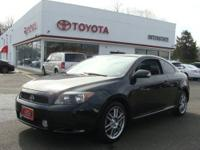 2007 SCION Tc-FWD-4CYL-BLUE METALIC, DARK ASH INTERIOR,
