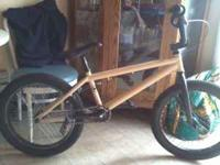 I have a untied frame with haro forks 14 mill drop outs