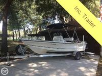 2007 Sea Boss 190 Bay Boat Features: Mercury Optimax