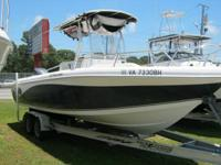 2007 Offshore 2400 Center Console. Includes Yamaha 300