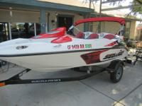 This is a beautiful little Sea Doo Speedster jet. Only