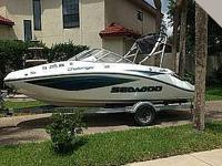 2007 Sea Doo Challenger 40 Hours Usage Only made use of