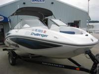 2007 SEA DOO CHALLENGER 180 JET BOATROTAX 4 STROKE 215