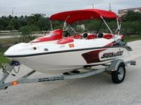 You are looking at a very clean 2007 Sea Doo Speedster