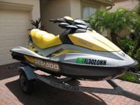 This 3-person jet ski is in exceptional functional